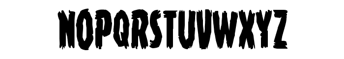 Young Frankenstein Condensed Font UPPERCASE