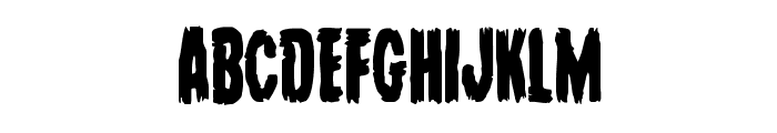 Young Frankenstein Condensed Font LOWERCASE
