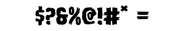 Young Frankenstein Expanded Font OTHER CHARS