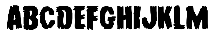 Young Frankenstein Expanded Font UPPERCASE