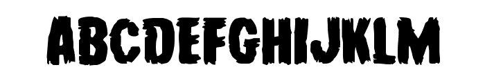 Young Frankenstein Expanded Font LOWERCASE