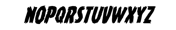 Young Frankenstein Italic Font LOWERCASE