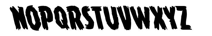 Young Frankenstein Leftalic Font UPPERCASE