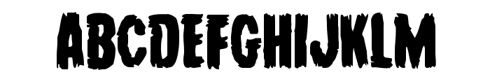 Young Frankenstein Regular Font UPPERCASE