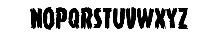 Young Frankenstein Regular Font LOWERCASE