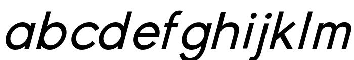 Young Italic Font LOWERCASE