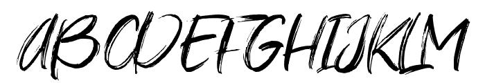 Young Vigor Font UPPERCASE