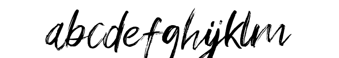 Young Vigor Font LOWERCASE