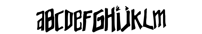 Young Zaphod Font UPPERCASE