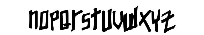 Young Zaphod Font LOWERCASE