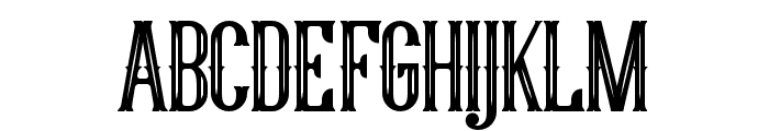 YoungHeart Font UPPERCASE