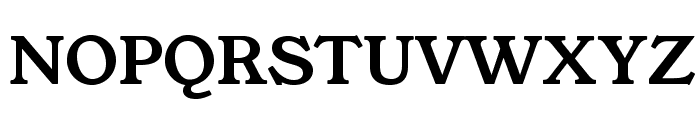 YoungSerif Font UPPERCASE