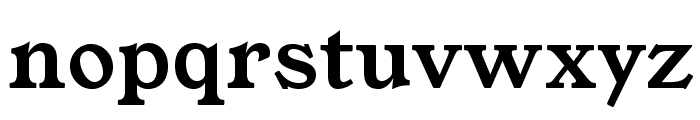 YoungSerif Font LOWERCASE