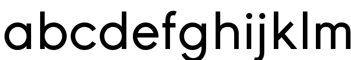 Young Font LOWERCASE