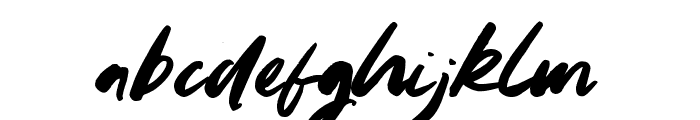 Youngblood Font LOWERCASE