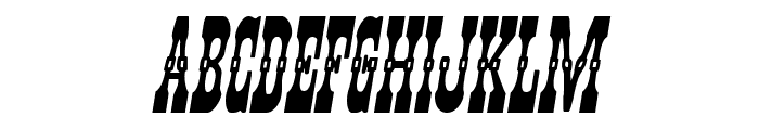Younger Brothers Bold Italic Font UPPERCASE