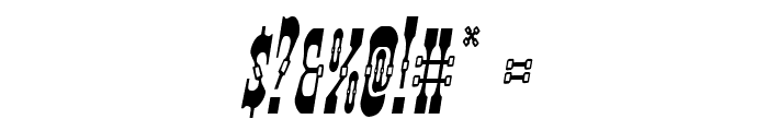 Younger Brothers Condensed Italic Font OTHER CHARS