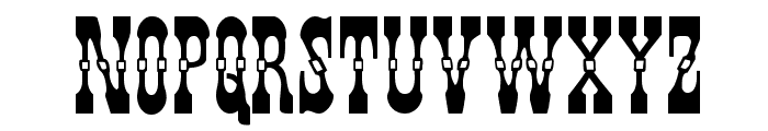 Younger Brothers Expanded Font UPPERCASE