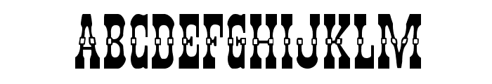 Younger Brothers Expanded Font LOWERCASE