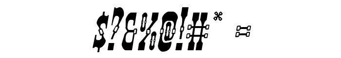 Younger Brothers Italic Font OTHER CHARS