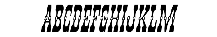 Younger Brothers Italic Font UPPERCASE