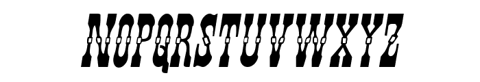 Younger Brothers Italic Font LOWERCASE