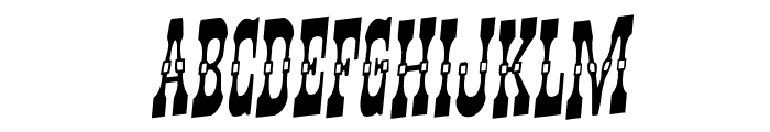Younger Brothers Rotalic Font UPPERCASE
