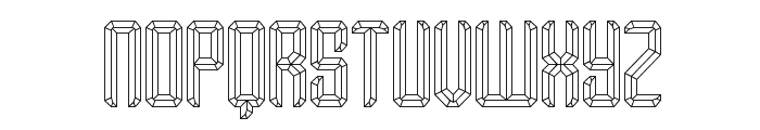 Your Complex O BRK Font UPPERCASE