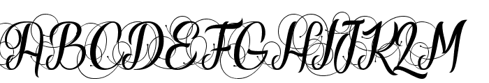 Your Fear Font UPPERCASE