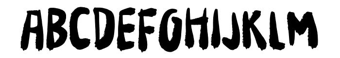 Your Flames DEMO Regular Font UPPERCASE