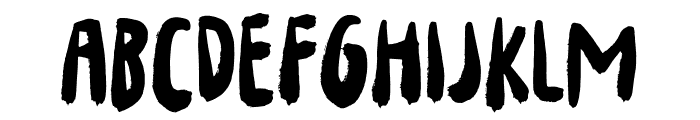 Your Flames DEMO Regular Font LOWERCASE