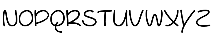 YoureSoCool Font UPPERCASE