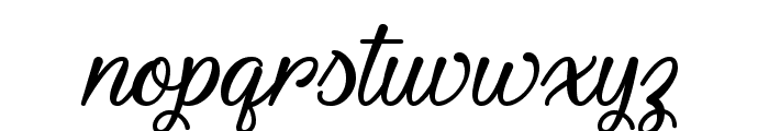 Youth and Beauty Font LOWERCASE