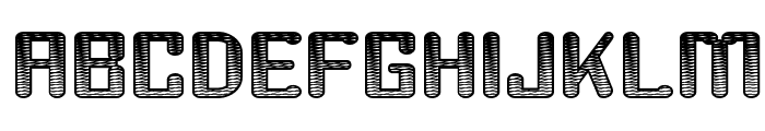 Youthanasia Texture Font UPPERCASE
