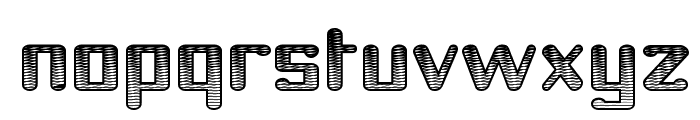 Youthanasia Texture Font LOWERCASE