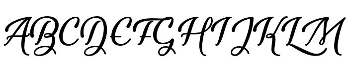 YouthandBeauty Font UPPERCASE