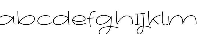 Youthing October Fourteen Font UPPERCASE
