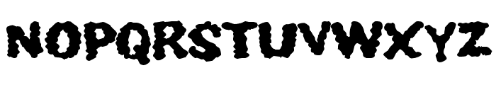 Youthquake Font UPPERCASE