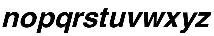Yoxall Bold Italic Font LOWERCASE