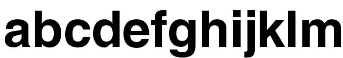 Yoxall Bold Font LOWERCASE