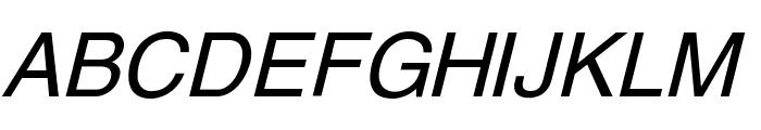 Yoxall Italic Font UPPERCASE