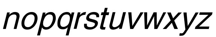 Yoxall Italic Font LOWERCASE