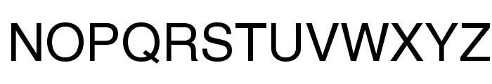 Yoxall Font UPPERCASE