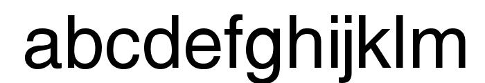Yoxall Font LOWERCASE