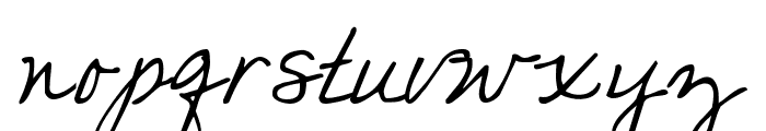 you found me Font LOWERCASE