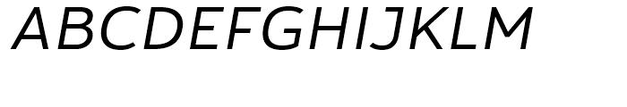 Yorkten Ext Regular Italic Font UPPERCASE