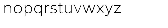 Yorkten Ext Thin Font LOWERCASE