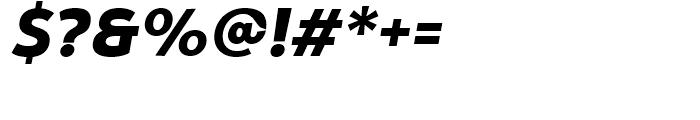 Yorkten Norm Black Italic Font OTHER CHARS