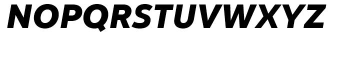 Yorkten Norm Black Italic Font UPPERCASE