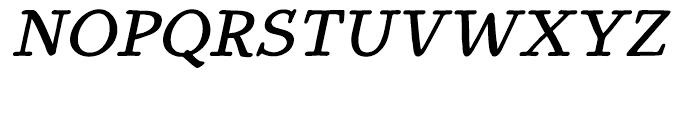 Youbee Bold Italic Font UPPERCASE